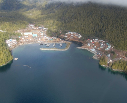 Smart microgrid in Hartley Bay British Columbia
