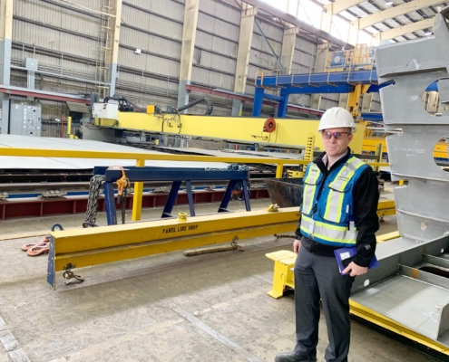 HMI update for crane